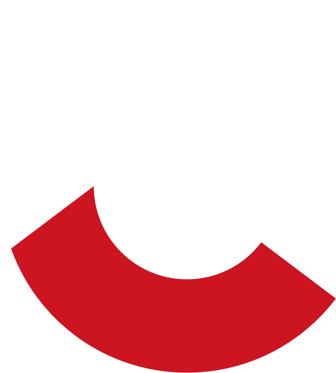 Large Blue Letter C from Cook Building logo