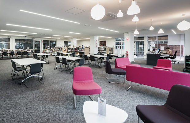 MMC Library refurbishment