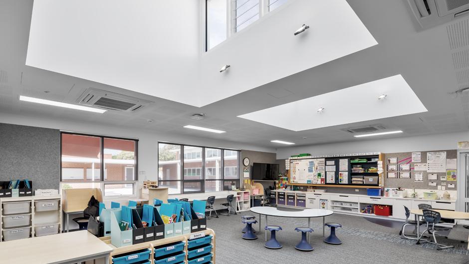 Immanuel Primary School classroom